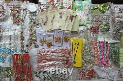 12.4KG Job Lot Mixed Costume Ethnic Gemstone Jewellery Bracelets Necklaces £1500