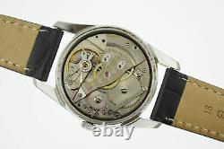 1960's Ball Trainmaster Official RR Standard Railroad 34mm Steel Watch 1604B