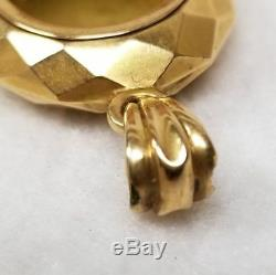 Antique Victorian 14kt Gold Black Enamel Lily of the Valley Pearl Morning Locket