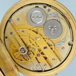 Attractive Gold and Enamel Pendant Watch