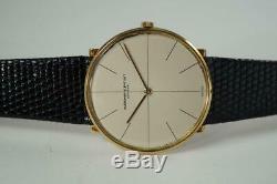 Audemars Piguet 18k Yellow Gold Slim Round Cal. 2003 Original Dial Dates 1966