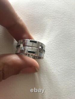 Cartier 18K White Gold Le Baiser Du Dragon Ring