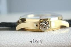 L. U. CHOPARD LUC Vintage early 1900 Enameled SKELETON New Cased SWISS Wristwatch