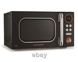 Morphy Richards 511503 Black & Rose Gold 20L Microwave