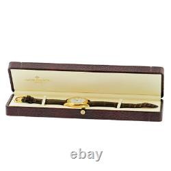 PATEK PHILIPPE 18K Rose Gold Calatrava 5115 R Enamel Dial Box Warranty 5115-R