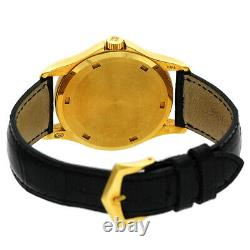 PATEK PHILIPPE 18K Yellow Gold Calatrava 5115 J Enamel Dial Box 5115-J