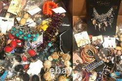 Pounds of Costume Jewelry Lot Name Brands Boutique Wholesale Reseller