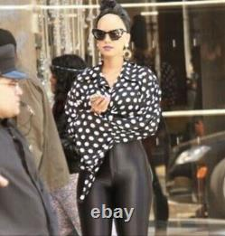 Vintage Givenchy Gold Black Enamel Pearl Drop Jumbo XL Earrings Clip On