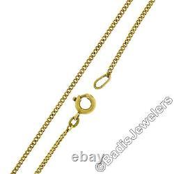 Vintage Victorian Revival 14k Gold. 90ct Diamond Black Enamel Pendant Pin Brooch