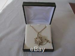 Antique 15ct Or Rose Diamant Et Émail Noir Pendentif / Broche Évaluation 9000 $