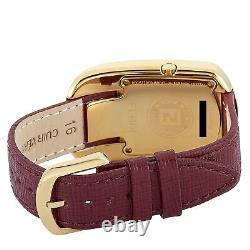 Fendi Chameleon Gold-tone Red And Black Enamel Quartz Watch F322431073d1