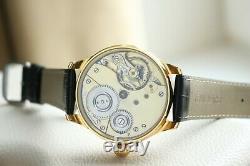 Glashütte Vintage Systeme Nouveau Tubé Émaillé Men`s Allemand Montre-bracelet