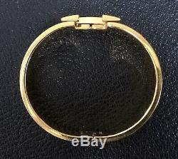 Hermes Large CLIC Clac H Bracelet Avec Noir H
