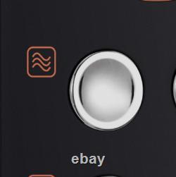 Morphy Richards 511503 Micro-ondes 20l 8 Programmes Automatiques Rose Gold Black