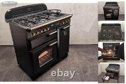 Rangemaster Classic 90 90cm All Gas Ng Range Cooker Noir & Or (1f09)