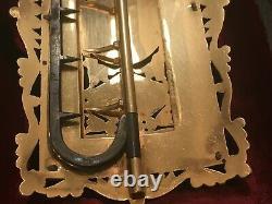 Rare Antique Enamel Pierre Dure Cased Enamel Jewelled Buckle 18 K Or. Réf24520