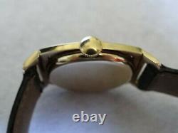 Rare Art Déco Hamilton Piping Rock 14k Enamel Bezel 19 Jewels Cal. 979-f Montre