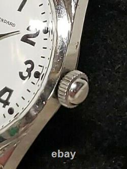 Vintage 60s Ball Official Standard Trainmaster 21 Jewel Manual Wind Rare 1604b